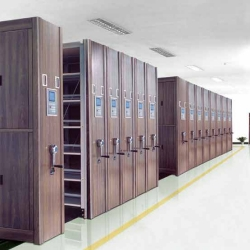 广西仿木智能型密集架文件柜